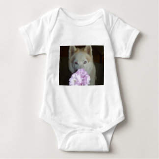 Take time to smell the flowers! baby bodysuit