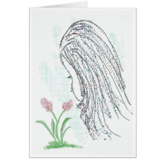 Take Time To Smell The Flowers Greeting Card