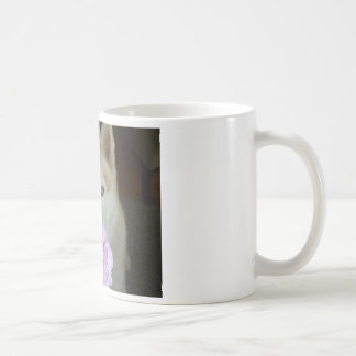 Take time to smell the flowers! coffee mug