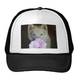 Take time to smell the flowers! trucker hat