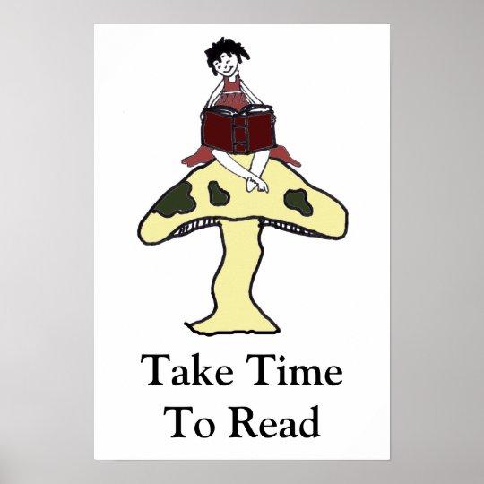 Take TimeTo Read Poster