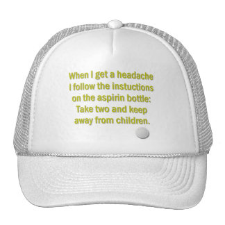 Take Two and Keep Away from Children Trucker Hat