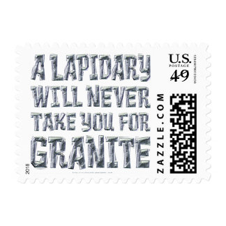 Take You for Granite Postage