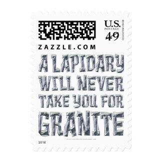 Take You for Granite Stamp