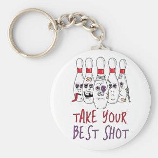 Take Your Best Shot Basic Round Button Keychain