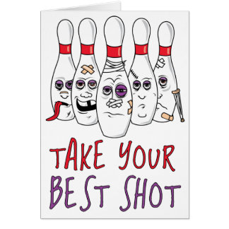 Take Your Best Shot Card