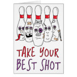 Take Your Best Shot Greeting Card