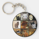 Take Your Cat to Work Day Keychain