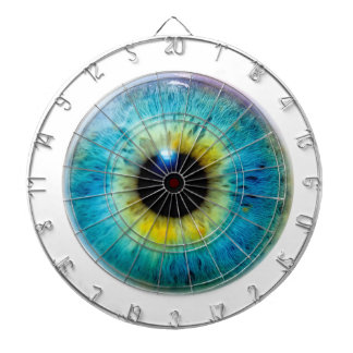 Take your eye out - the eyeball dartboard