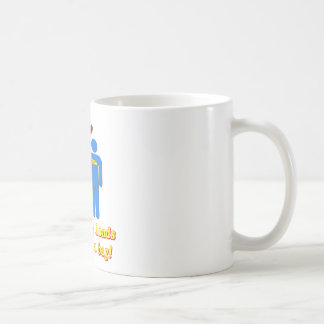 Take Your Hands Off My Tea Bag TSA Airport Coffee Mug