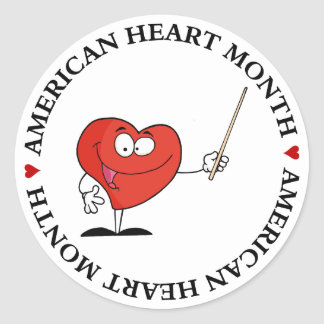 Take Your Health to Heart Classic Round Sticker
