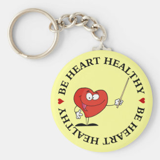 Take Your Health to Heart Keychain