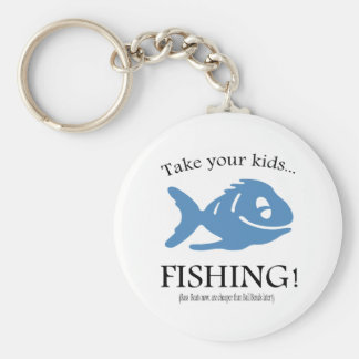 Take your Kids fishing! Keychain