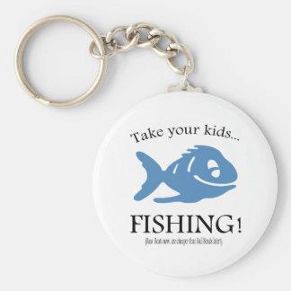 Take your Kids fishing! Keychains