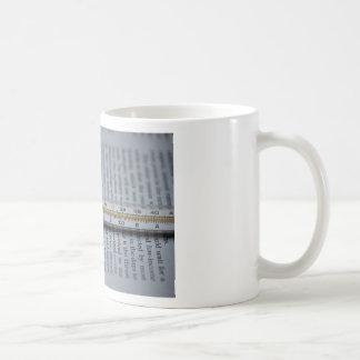 Take your temperature classic white coffee mug
