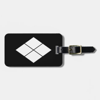 Takeda rhombus luggage tag