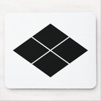 Takeda rhombus mouse pad