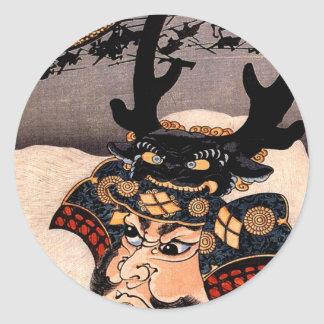 Takeda Shingen 武田信玄 Classic Round Sticker