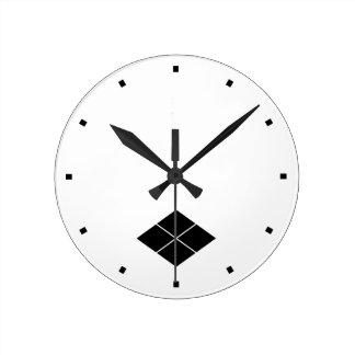 Takeda water caltrop wall clocks