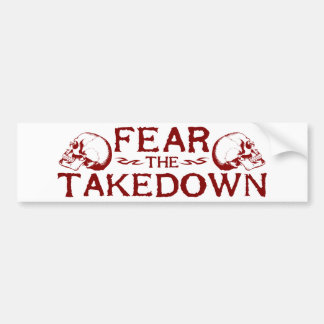 Takedown Bumper Sticker