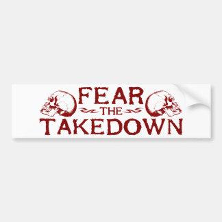 Takedown Bumper Stickers