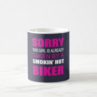 Taken By A Biker Coffee Mug