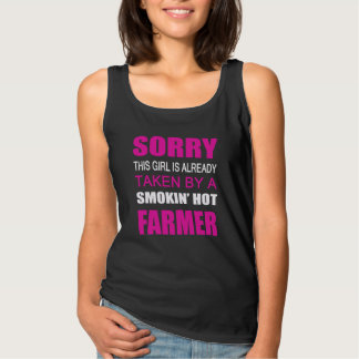 Taken By A Farmer Tank Top