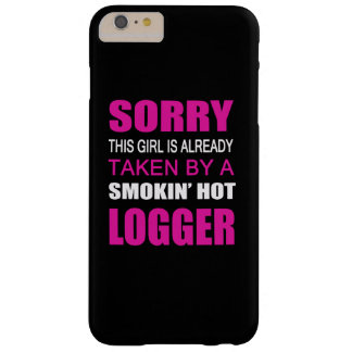 Taken By A Logger Barely There iPhone 6 Plus Case