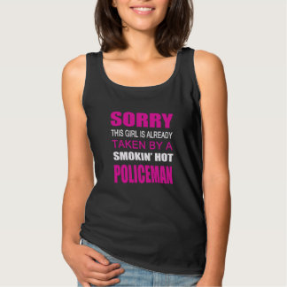 Taken By A Policeman Basic Tank Top