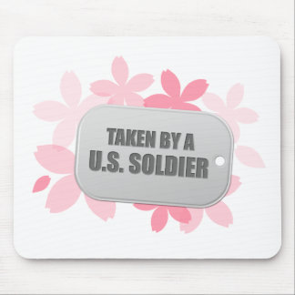 Taken By A U.S. Soldier Mouse Pad