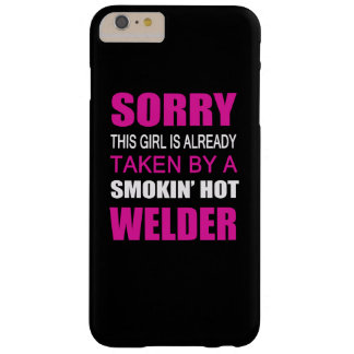 Taken By A Welder Barely There iPhone 6 Plus Case