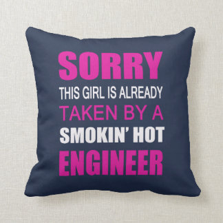 Taken By An Engineer Throw Pillow