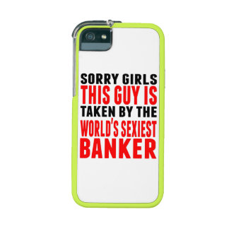 Taken By The World's Sexiest Banker Case For iPhone 5