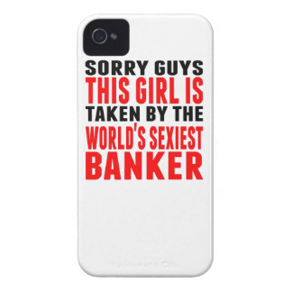 Taken By The World's Sexiest Banker Case-Mate iPhone 4 Cases