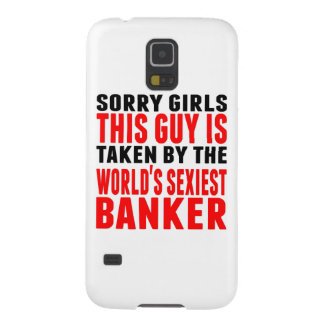 Taken By The World's Sexiest Banker Galaxy S5 Cover