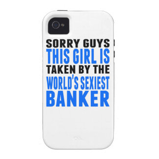 Taken By The World's Sexiest Banker iPhone 4/4S Cases