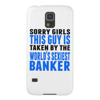 Taken By The World's Sexiest Banker Galaxy S5 Case