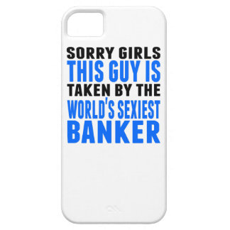 Taken By The World's Sexiest Banker iPhone 5 Case