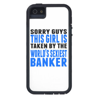 Taken By The World's Sexiest Banker iPhone 5 Cover