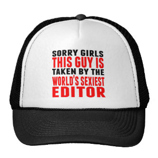 Taken By The World's Sexiest Editor Trucker Hat