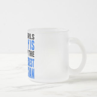 Taken By The World's Sexiest Electrician 10 Oz Frosted Glass Coffee Mug