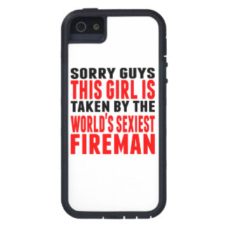 Taken By The World's Sexiest Fireman iPhone 5 Cases