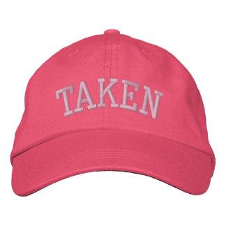TAKEN EMBROIDERED BASEBALL CAP