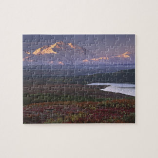 Taken in early September in Denali National Park Jigsaw Puzzle