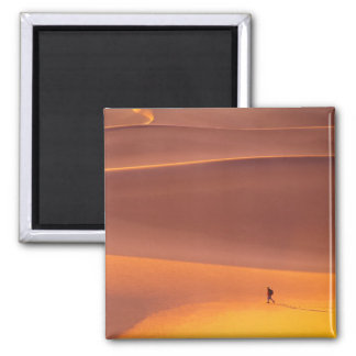 Taken in January at the crack of dawn in Death 2 Inch Square Magnet