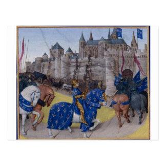 Taken in Tours in 1189 by Jean Fouquet Postcard