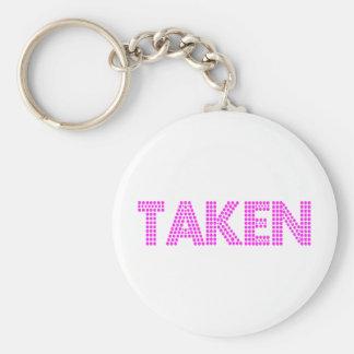 Taken Keychain