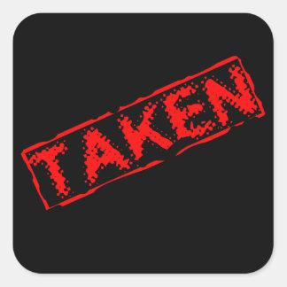 Taken Sticker
