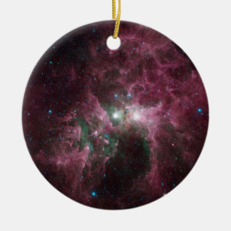 Taken Under the 'Wing' of the Small Magellanic Clo Ceramic Ornament