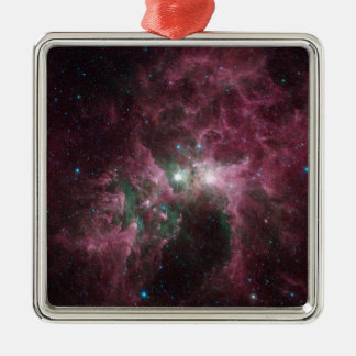 Taken Under the 'Wing' of the Small Magellanic Clo Metal Ornament